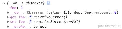 Vue-data结构